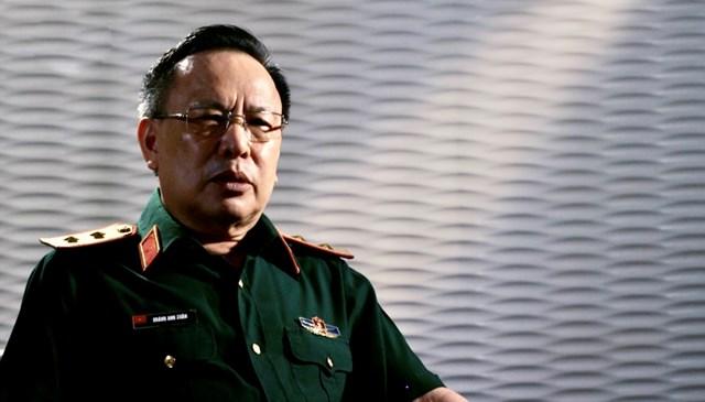 Trung tướng Hoàng Anh Xuân - Nguyên Tổng Giám đốc Tập đoàn Viễn thông quân đội Viettel.