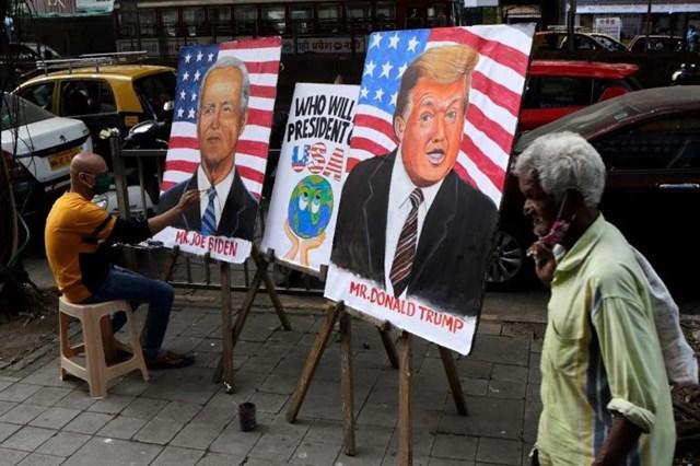 uộc bầu cử Tổng thống Mỹ 2020 đã trở thành sự kiện chính trị được cá cược lớn nhất mọi thời đại tại sàn giao dịch Betfair ở Anh. (Ảnh: Twitter)