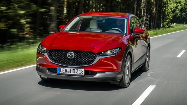 CX-30 - một trong số 7 sản phẩm của Mazda trong khảo sát. Ảnh:Mazda
