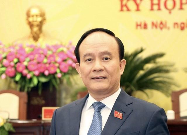 Chủ tịch HĐND TP Hà Nội nhiệm kỳ 2016-2021 Nguyễn Ngọc Tuấn. Ảnh: VGP/Thiện Tâm