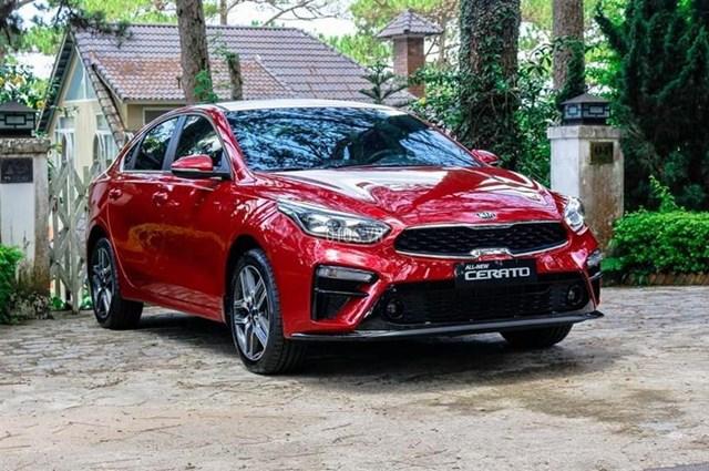 Kia Cerato đang là mẫu xe ở phân khúc hạng C được ưa chuộng. Ảnh: Xegiare.com