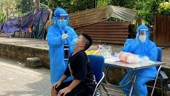 Hà Nội mở rộng xét nghiệm liên quan đến ca nhiễm cộng đồng sáng 22/9. Ảnh Bộ Y tế