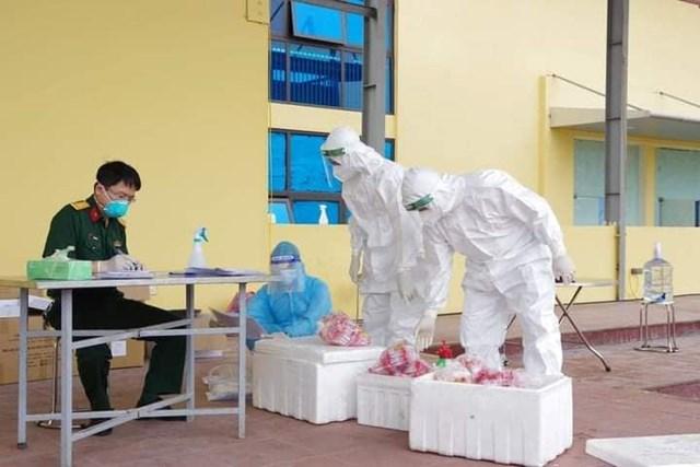 Sau 16 ngày bùng dịch, Hà Nam ghi nhận 501 ca mắc Covid-19, trở thành ổ dịch lớn nhất miền Bắc hiện nay. Ảnh Bộ Y tế