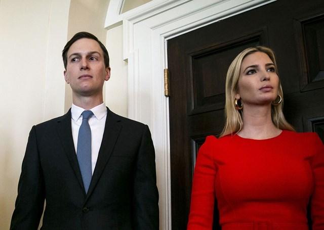 Jared Kushner và Ivanka Trump. Ảnh: Bloomberg