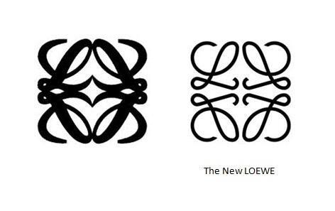 Logo của Loewe được tinh giản, bớt sắc đậm