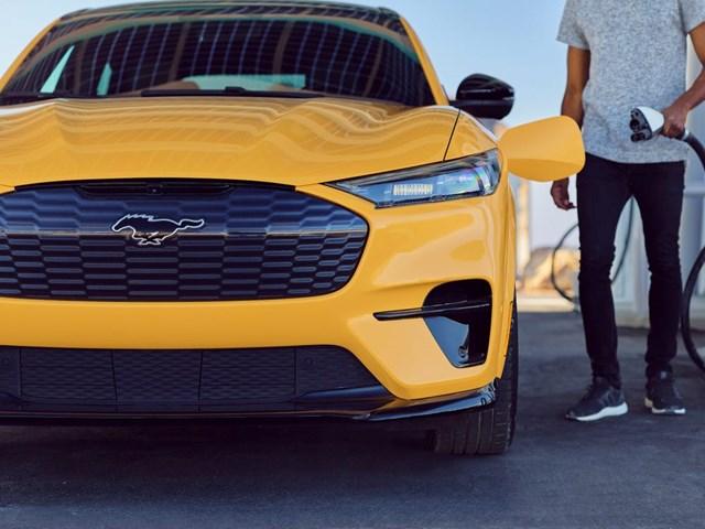Mẫu xe Mustang Mach-E Ảnh: Ford.