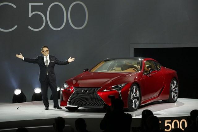 Ông Akio Toyoda, chủ tịch của Toyota Motor Corporation. Ảnh: Lexus