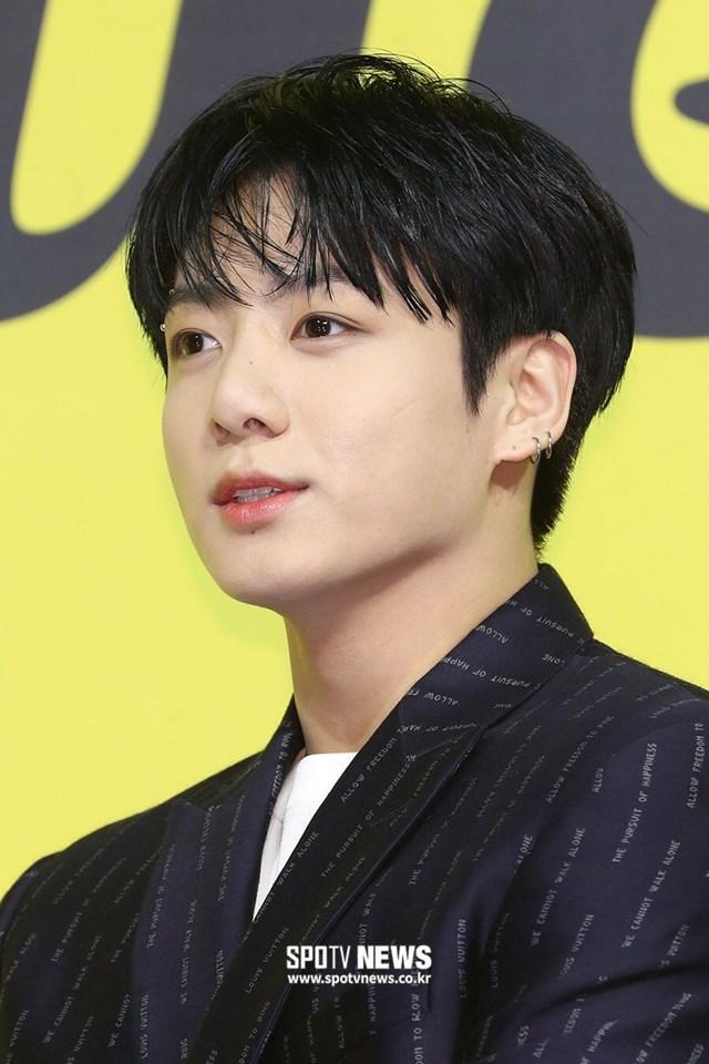 Jungkook là thành viên nhỏ tuổi nhất BTS. Ảnh: Spotv News.