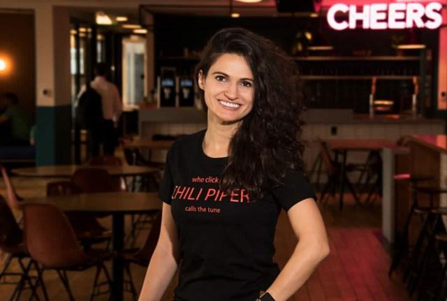 CôAlina Vandenberghe -đồng sáng lập và giám đốc tạiChili Piper.