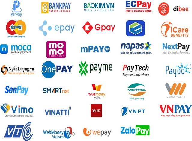 Chỉ riêng tại Việt Nam đã có hàng chục ví điện tử đang hoạt động. Ảnh: Tellimer