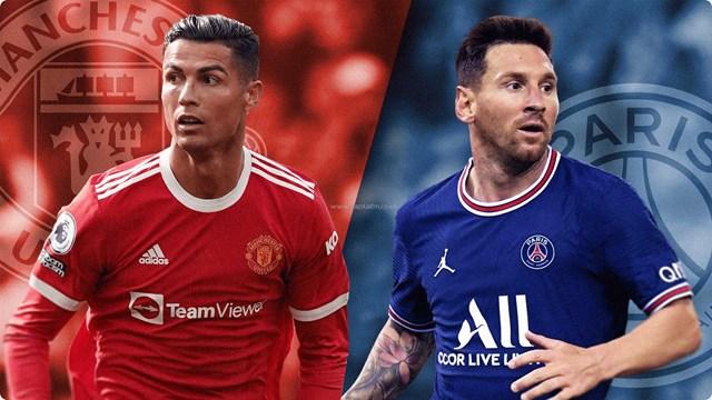 Cristiano Ronaldo đòi lại vị trí số 1 từ Lionel Messi sau khi chuyển đến Manchester United. Ảnh: Getty Images