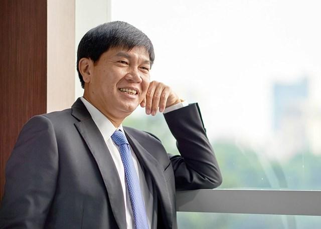 Nhà sáng lập kiêm Chủ tịch Tập đoàn Hòa Phát Trần Đình Long. Ảnh:Hòa Phát.