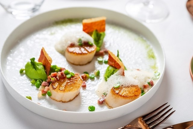 Các món ăn tại Jardin Des Sens Saigon mang đậm phong vị Pháp và Địa Trung Hải. Ảnh: Internet