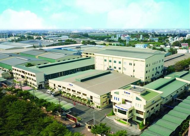 Nhà máy của Tập đoàn Thiên Long. Nguồn: Internet