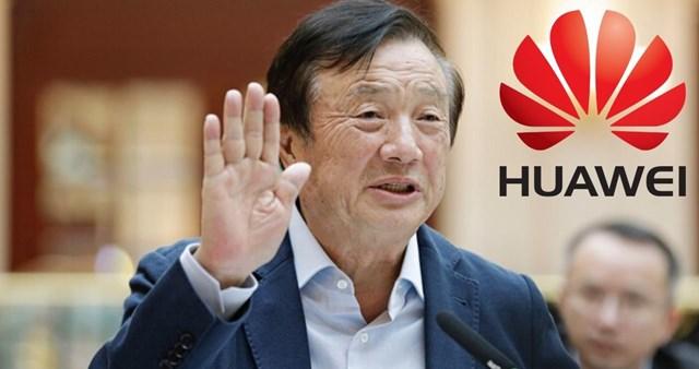 Chủ tịch Tập đoàn Huawei - Nhậm Chính Phi. Nguồn: Internet
