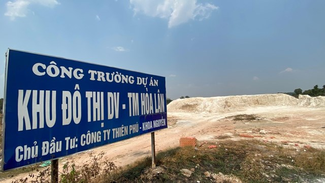 Dự án Hòa Lân tiếp tục rơi vào tình trạng lãng phí hoang hóa sau quyết định kháng nghị của VKSND Cấp cao tại TP HCM.