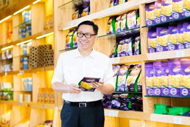 Chủ tịch Vinamit Nguyễn Lâm Viên: Tình yêu thương gia đình là nguồn cảm hứng sáng tạo sản phẩm mới - Ảnh 1