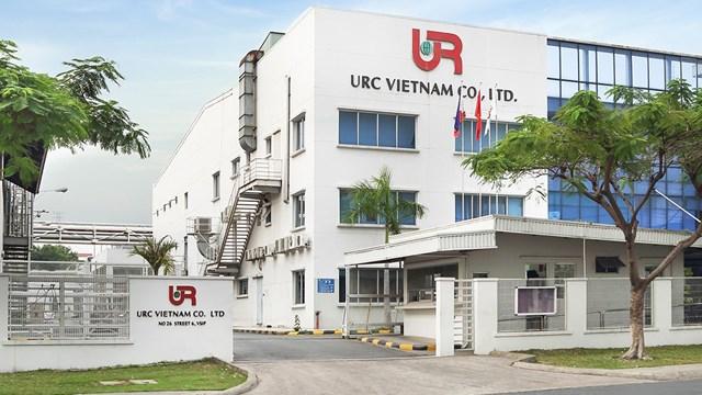 Nhà máy URC Việt Nam ở thị xã Thuận An, Bình Dương