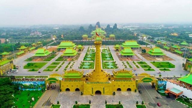 Quang cảnh khu du lịch Đại Nam.