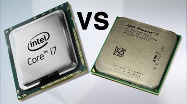 Chip máy tính cho Intel và AMD sản xuất.