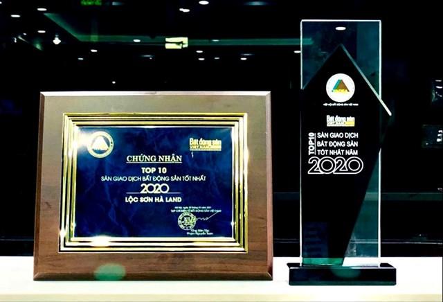 Lộc Sơn Hà 3 năm liên tiếp đạt giải Top 10 Sàn giao dịch bất động sản tốt nhất - Ảnh 2