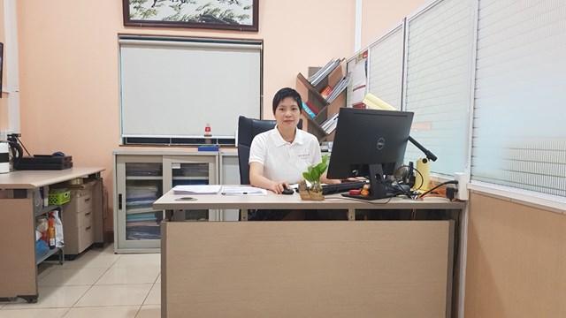 Bà Lê Thị Hậu Phương - Giám đốc Vietfoods