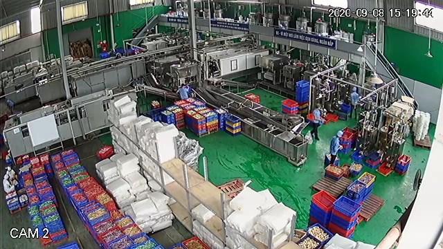 Dây chuyền sản xuất hiện đại đảm bảo VSATTP của Vietfoods