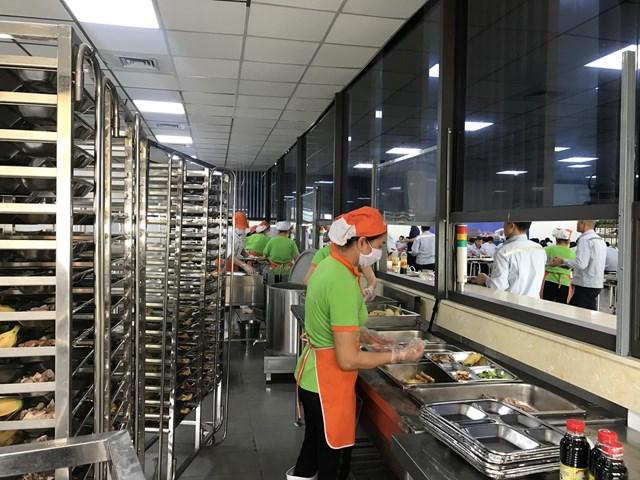 Các công đoạn sản xuất suất ăn của Haseca đều đảm bảo đúng quy trình về VSATTP