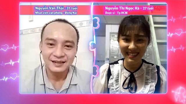 Cặp đôi Ngọc Hà - Văn Thái được Quyền Linh dốc lòng mai mối. Ảnh: MCV.