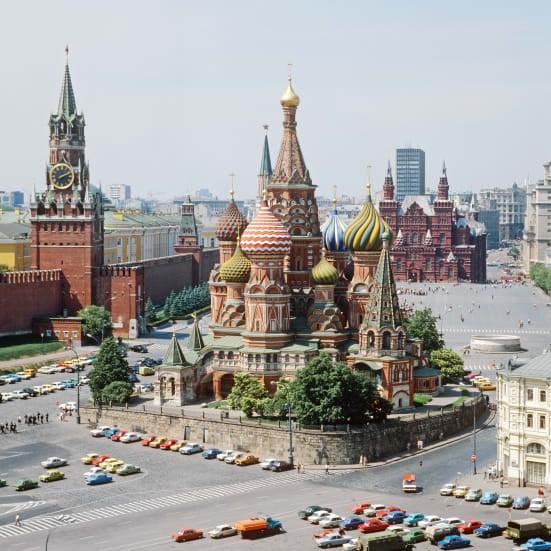 Nhà thờ chính tòa Thánh Vasily là trái tim của Moscow. Ảnh:Valentin Sobolev.