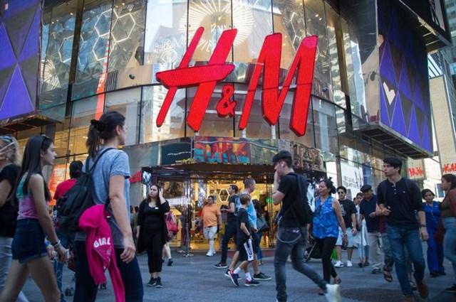 Một cửa hàng của thương hiệu H&M