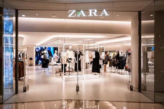 Zara có khoảng 2.250 cửa hàng trên toàn cầu