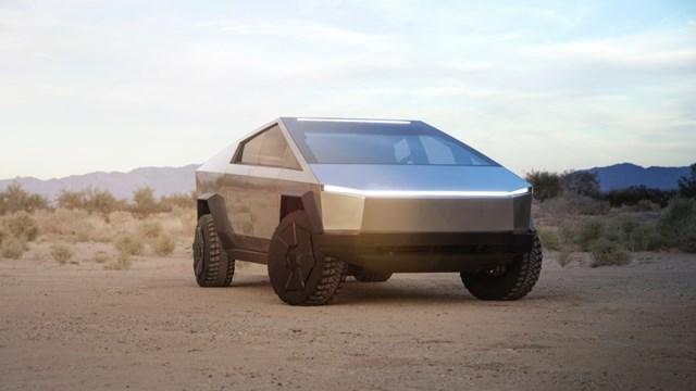 Quảng cáoCybertruck của Tesla