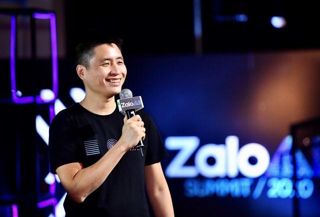 Ông Vương Quang Khải - Chủ tịch Zalo, chia sẻ mở màn tại Zalo AI Summit 2020. Ảnh: Người đô thị