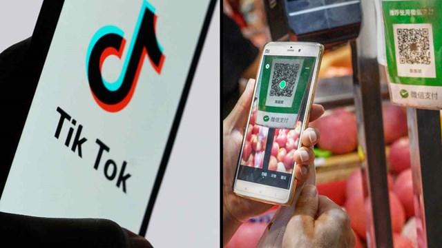 Các nhà chức trách Trung Quốc đã triệu tập 13 công ty fintech, bao gồm chủ sở hữu WeChat Pay, Tencent Holdings và chủ sở hữu TikTok ByteDance. Ảnh: Getty images/Reuters