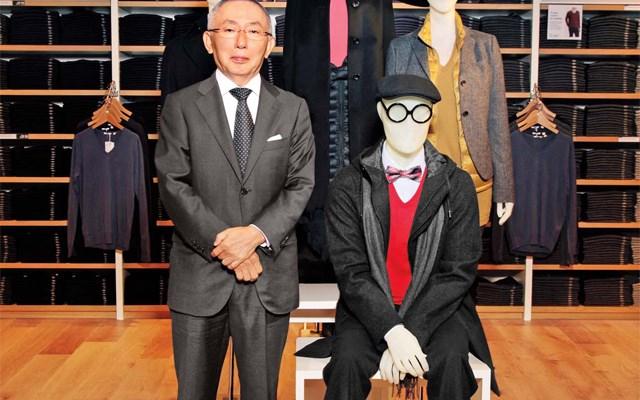 ÔngTadashi Yanai,chủ tịch kiêm CEO của Fast Retailing, công ty mẹUniqlo.