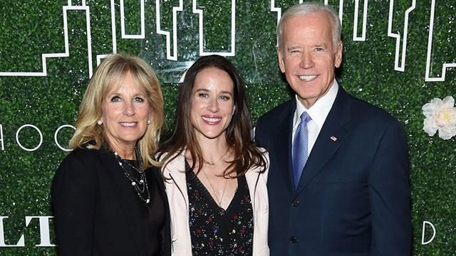 Ashley là con gái duy nhất của ông Joe Biden và vợ hiện tại