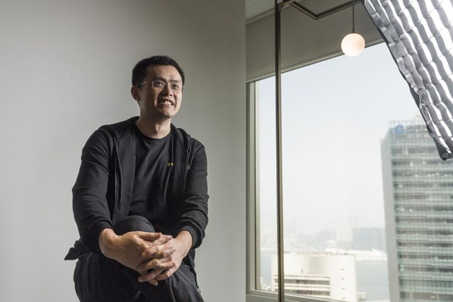 Zhao Changpeng, giám đốc điều hành của Binance
