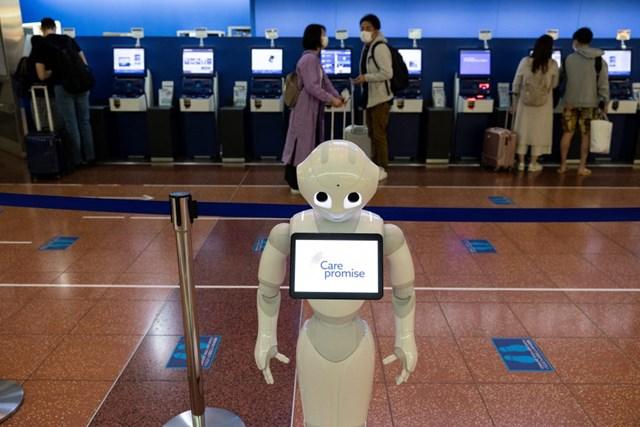 Pepper, dòng robot bán hàng được Softbank chế tạo sẽ tiếp tục được cải tiến