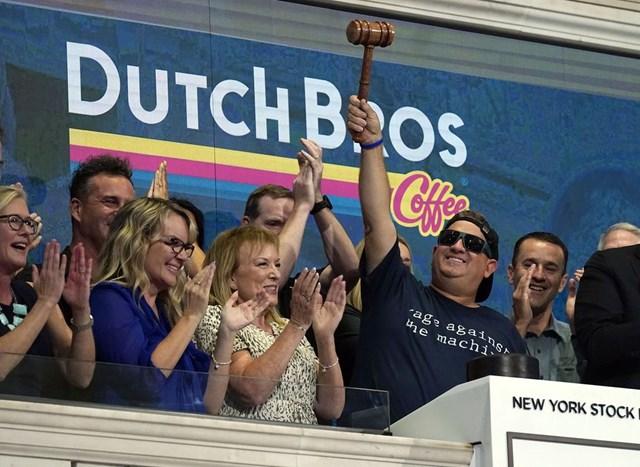TravisBoersma trở thành tỷ phú sau khiDutch Bros chính thức giao dịch trên Sàn giao dịch chứng khoán New York ngày 15/9 vừa qua