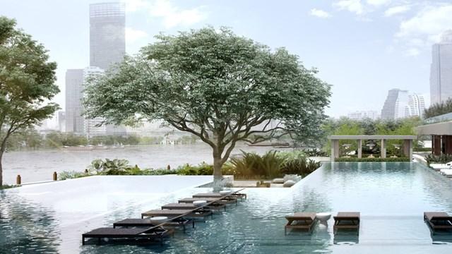 Four Seasons Hotel Bangkok. Sau khi ngày khai trương ban đầu bị hoãn lại thì khách sạn bên bờ sông Chao Phraya này đã chính thức nhận đặt phòng lưu trú từ ngày 1/12. Khách sạn 299 phòng này có thuyền riêng đưa du khách đi tham quan khu vực theo hệ thống kênh ở trung tâm Bangkok.
