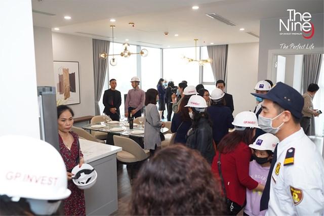 200 khách hàng trải nghiệm căn hộ thực tế The Nine - Ảnh 1