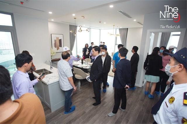 200 khách hàng trải nghiệm căn hộ thực tế The Nine - Ảnh 2