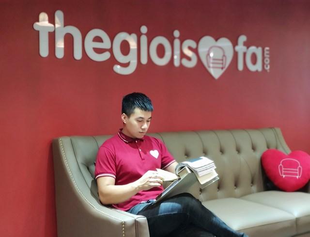 Anh Đinh Tuấn Anh - CEO kiêm đồng sáng lập chuỗi Thegioisofa