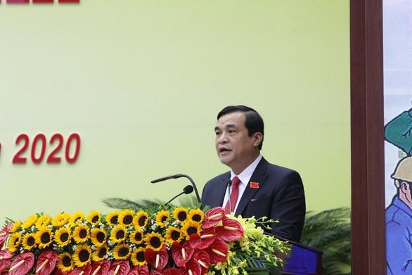 Ông Phan Việt Cường tái đắc cử chức danh bí thư Tỉnh ủy Quảng Nam - Ảnh: L.T.
