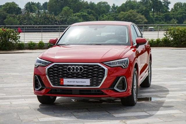 Audi Q3 Sportback là xe điện hóa mới nhất gia nhập thị trường Việt Nam, với giá bán trên 2 tỷ đồng.