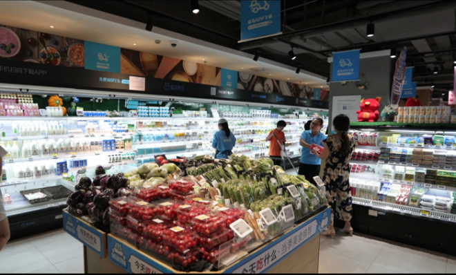 Sữa chua Vinamilk đã chính thức có mặt tại siêu thị thông minh Hema của Alibaba tại Trung Quốc - Ảnh 1