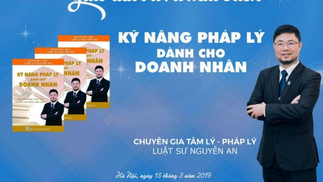 Tiến sĩ Nguyễn An: Vị luật sư nặng lòng với doanh nghiệp và cộng đồng - Ảnh 1