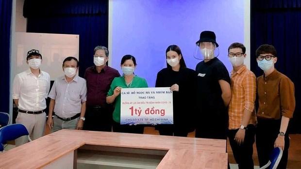 Trịnh Kim Chi và nhiều nghệ sĩ quyên góp chống dịch Covid-19 - Ảnh 3