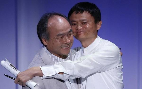 Jack Ma động viên tỷ phú Masayoshi Son sau thất bại của WeWork: